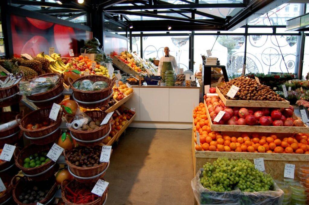 помещение для торговли овощами