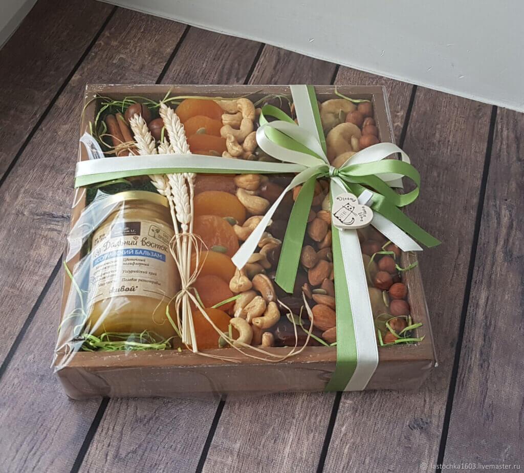 подарочные наборы сухофруктов